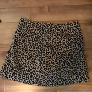 Cheetah print skirt, NEVER WORN